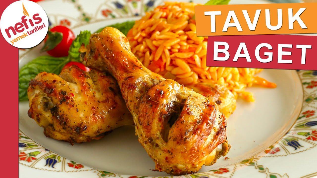 LOKUM KIVAMINDA Sar Pişir Tavuk Baget - En kolay yemek