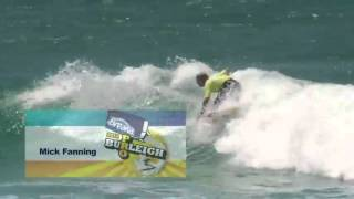 Breaka Burleigh Pro 2012 - highlights Final Day