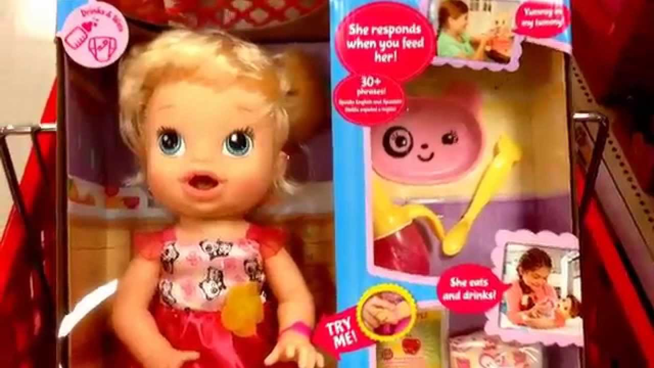 Baby Alive My Baby All Gone Doll Review - YouTube
