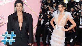Kim Kardashian & Kendall Jenner HEAT UP The Summer With Plunging Neckline Trend! | TT
