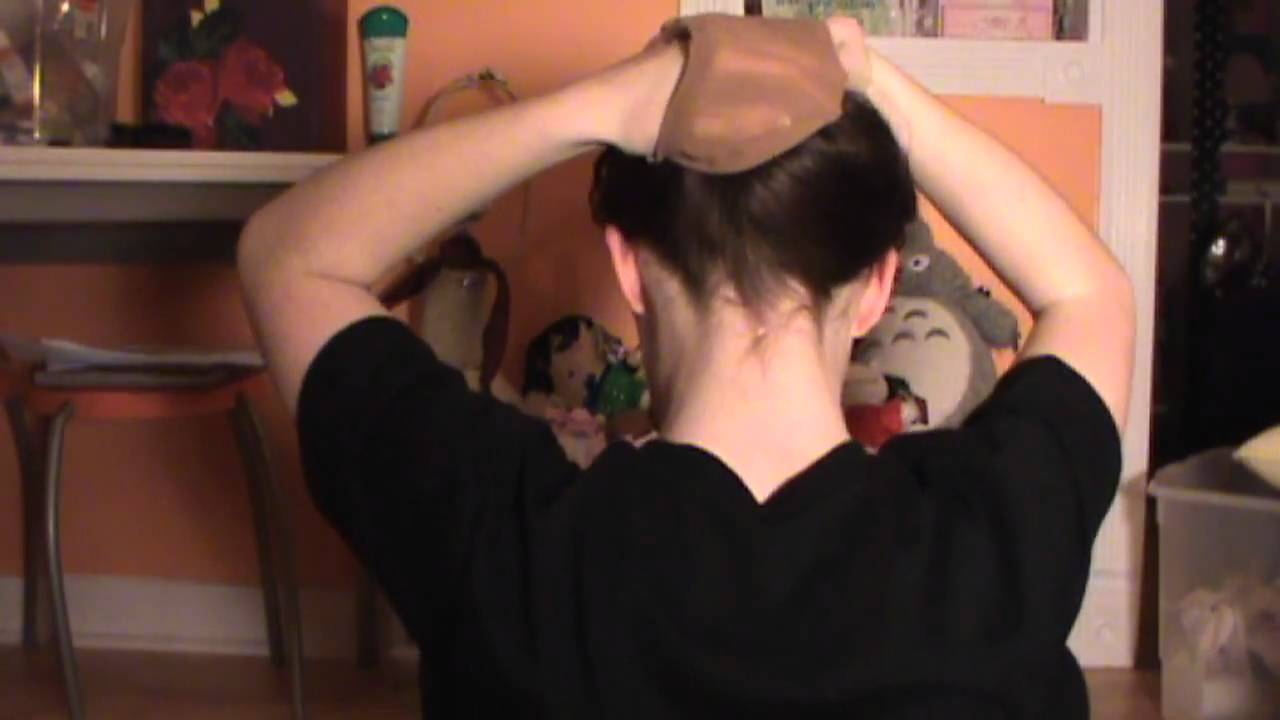 How to Put on a Wig Cap with Long Hair - YouTube 52d5f15df