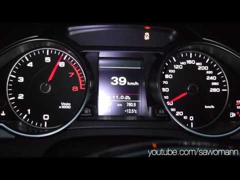 2013 Audi A5 Coupé 2.0 TFSI quattro 225 HP 0-100 km/h & 0-100 mph Acceleration GPS Measurement
