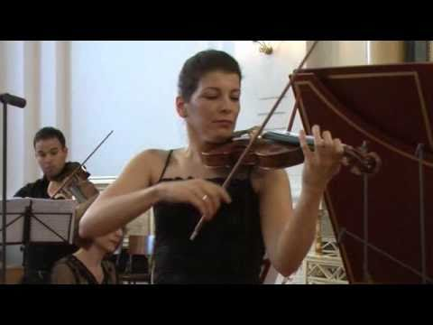 Bach - Violin Concerto in A minor - Marta Abraham - 3 Allegro assai (3/3)