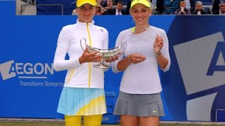 Donna Vekic - daniela hantuchova vs donna vekic final birmingham 2013 highlights