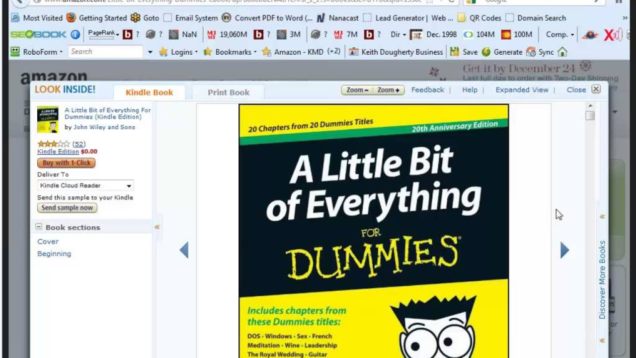 A Little Bit Of Everything For Dummies Pdf