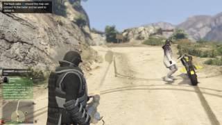 GTA 5 Online - Ballistic Armor Suit & Minigun Strength Test