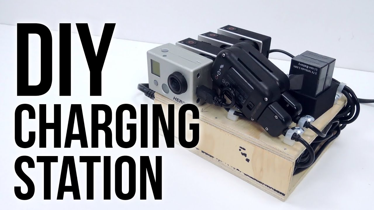 Diy Usb Charging Hub Diy Charging Station Ft Bolse 7 Port