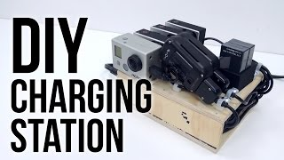 Diy Charging Station Ft. Bolse 7-port Usb Charger