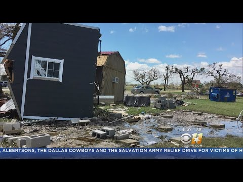 Woman Evacuated To Fort Worth Shares Story About Rockport