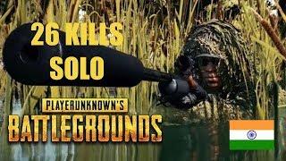 Asianblackpunk ki skills/chicken dinner and 26 kills solo pubg mobile.