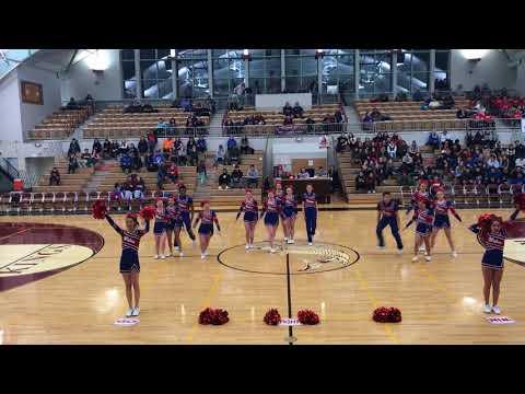 Sitka High School Cheerleading Region V Routine 2018