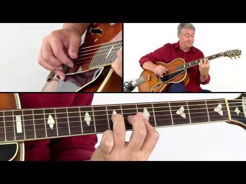 Fingerstyle Blues & Boogie Guitar Lesson - Big Chief Rolls - Ton Van Bergeijk