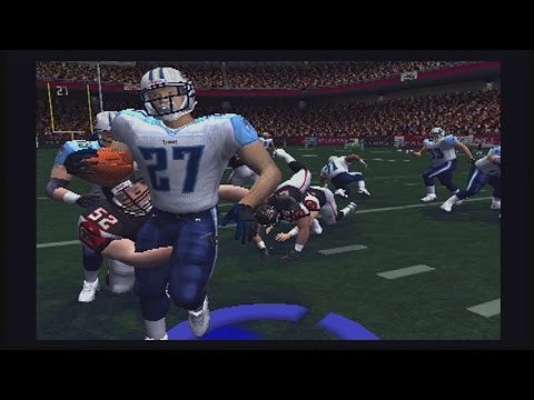 MADDEN 2004 PS2 GAMEPLAY :: EDDIE GEORGE DOING ALL HE CAN VS MIKE VICK