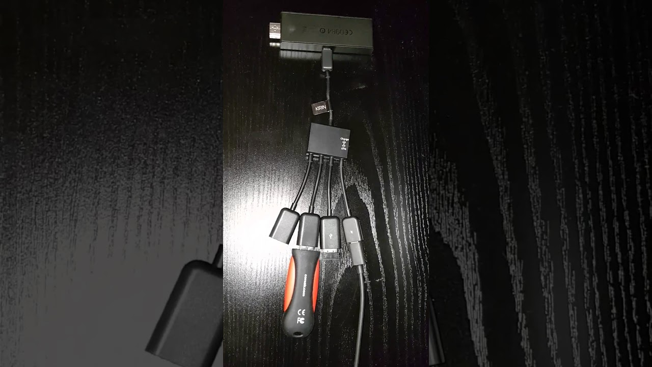 Firestick With Usb Otg Hub Cable Youtube