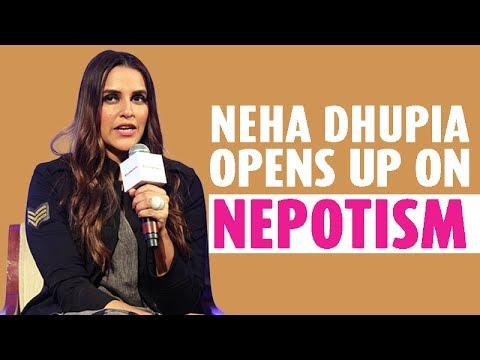 Neha Dhupia opens up on Nepotism