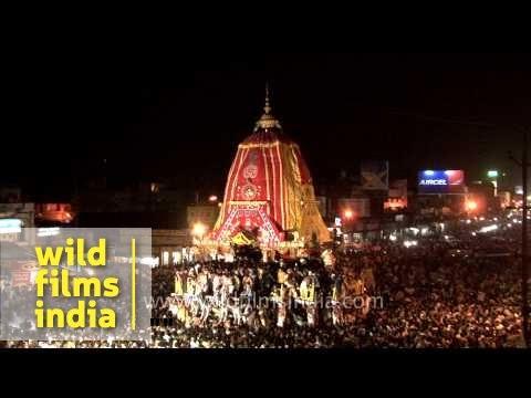 Puri Jagannath Rath Yatra - Odisha