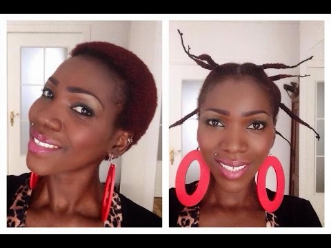 African threading : stretch your natural 4C hair without heat
