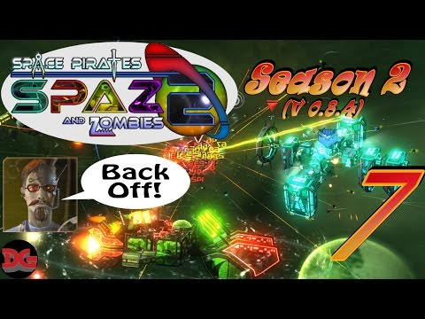 Space Pirates and Zombies 2 ► Let's Play Season 2 - Ep 7 ► Blockades and Invaders! (1440/60)