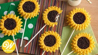 How to Make Sunflower Cookie Pops | Wilton