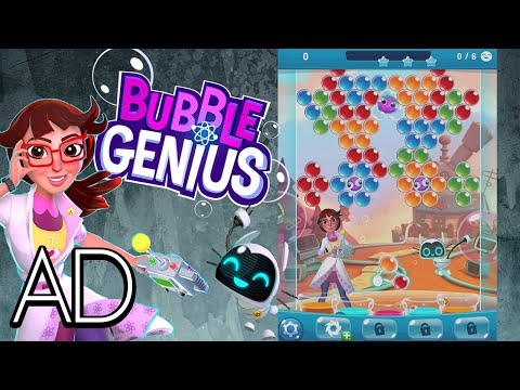 Bubble Genius - A Bubble Popping Mobile Game! #AD