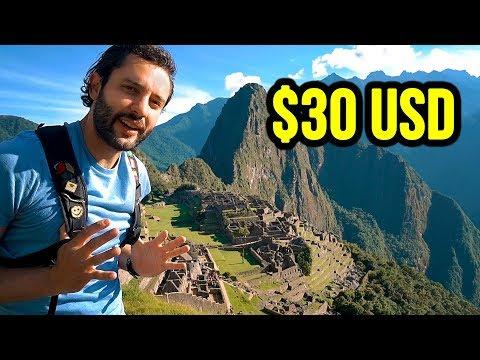 Cheapest Way to Machu Picchu | PERU