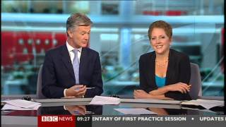 "CARRIE GRACIE (31 Aug 12) BBC NEWS - ""The Wettest Summer for A Century"""