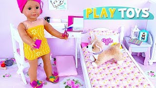 Baby doll how to make new shoes from foam paper, diy craft tutorial for kids! 🎀