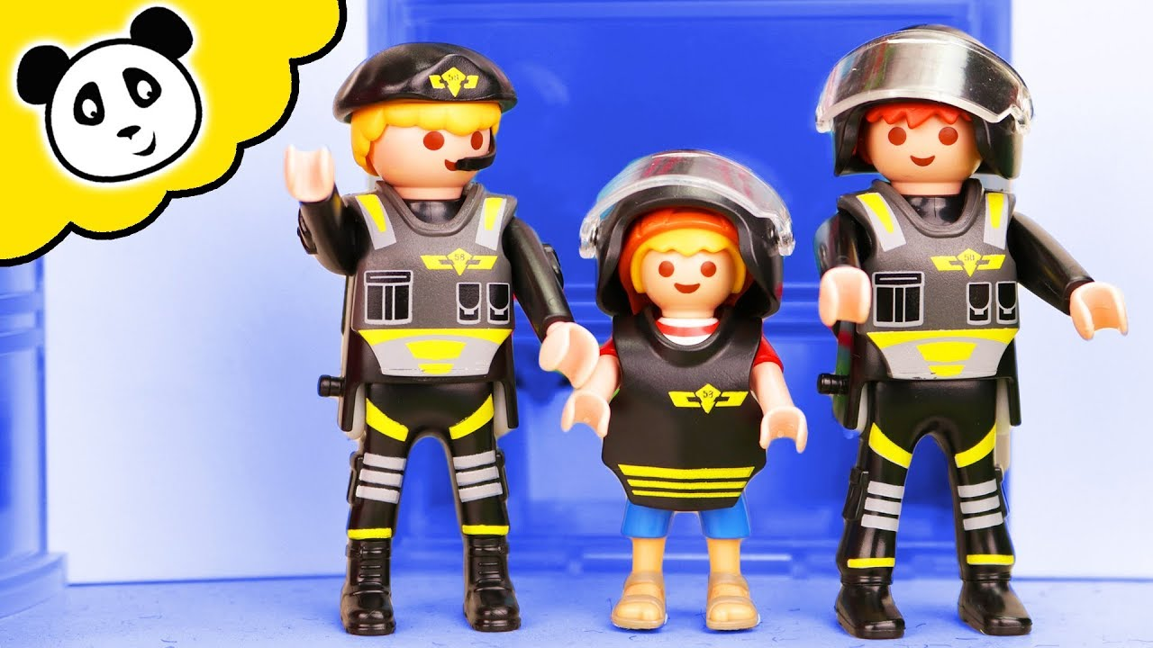 playmobil polizei kind beim sek playmobil film youtube. Black Bedroom Furniture Sets. Home Design Ideas