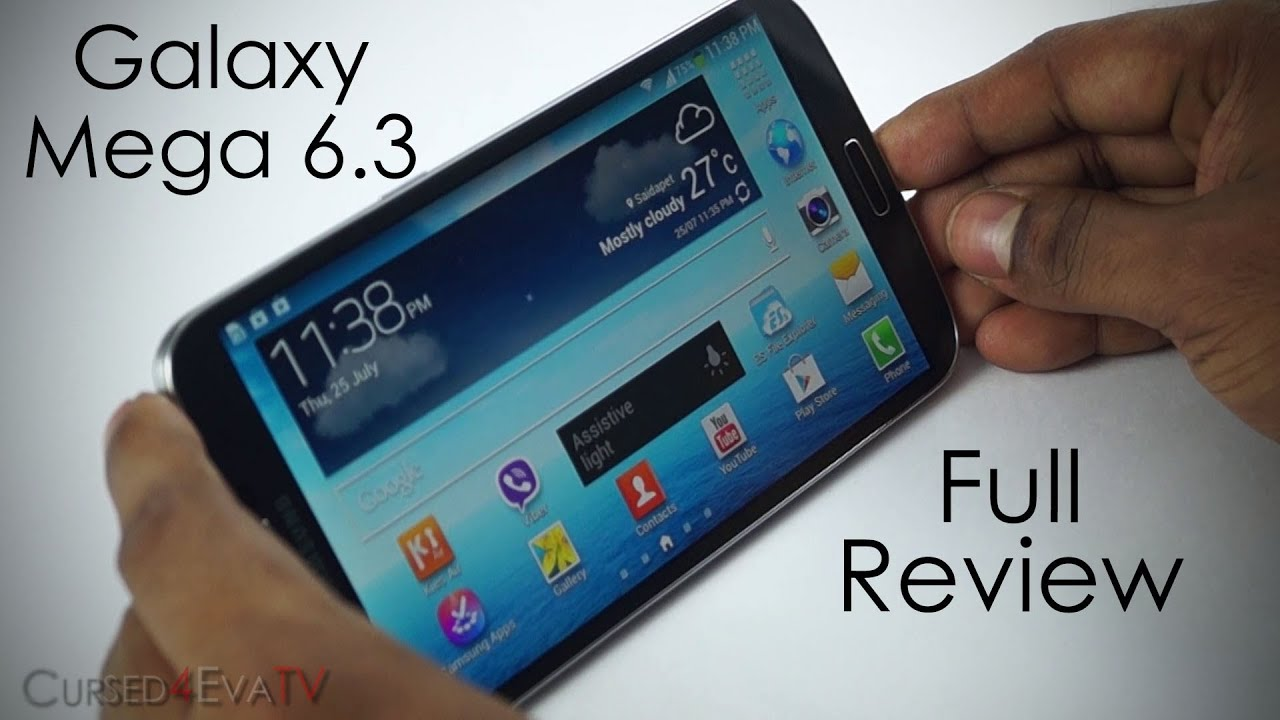 Galaxy Mega 6 3 Review Big Phone Or Small Tablet Youtube