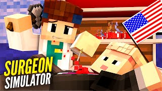 WIRD DONALD TRUMP STERBEN? | Minecraft Surgeon Simulator