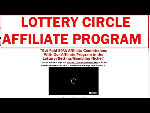 Lottery Circle JV/Affiliate Program - Get Paid 50% Commissions With Our Refer-a-Customer Program!