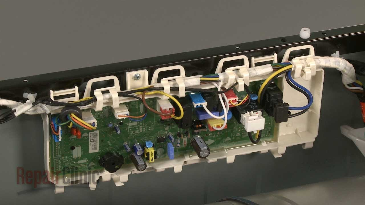 frigidaire dryer diagram 2004 mustang fuse box lg electric control board replacement #ebr62707647 - youtube
