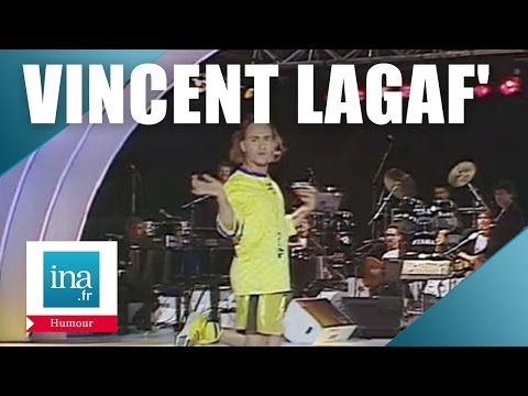 "Vincent Lagaf' ""Le football"" | Archive INA"