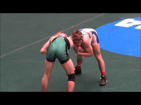 Jarrad Lasko vs Gregory Warner of York PA at 2018 NCAA Nationals March 2018