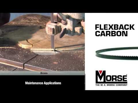 The M. K. Morse Company - Carbon Flex Back Blade