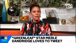 """Merle Dandridge Loves to Live-Tweet """"Greenleaf"""""""