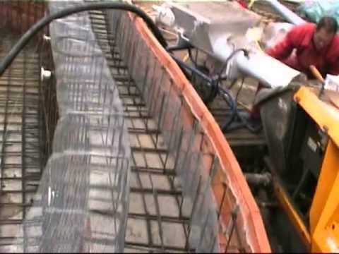 Proceso de construcci n de una piscina en gunitado youtube for Construccion de piscinas de concreto