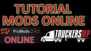 TUTORIAL MODS ETS2 ONLINE + PROMODS ONLINE