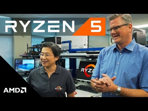 AMD Ryzen™ 5 Desktop Processor Sneak Peek