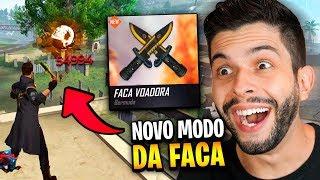 50.000 NA FACA?! NOVO MODO DE JOGO MAIS LOUCO DO FREE FIRE!!