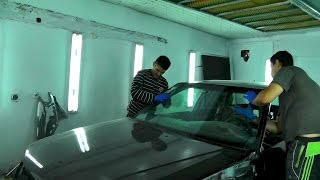 видео Как вклеить лобовое стекло автомобиля своими руками?