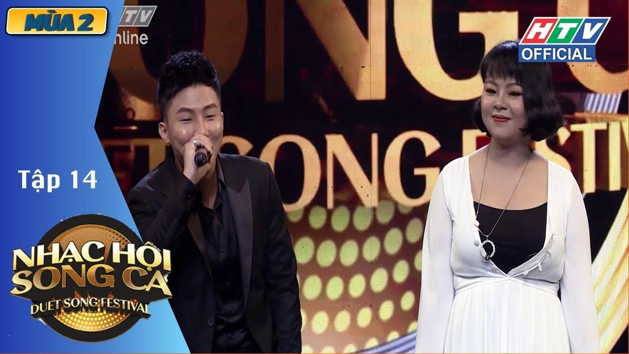 image Diva Hồng Nhung bất ngờ có mặt tại HTV NHẠC HỘI SONG CA MÙA 2 | NHSC #14 FULL | 15/7/2018