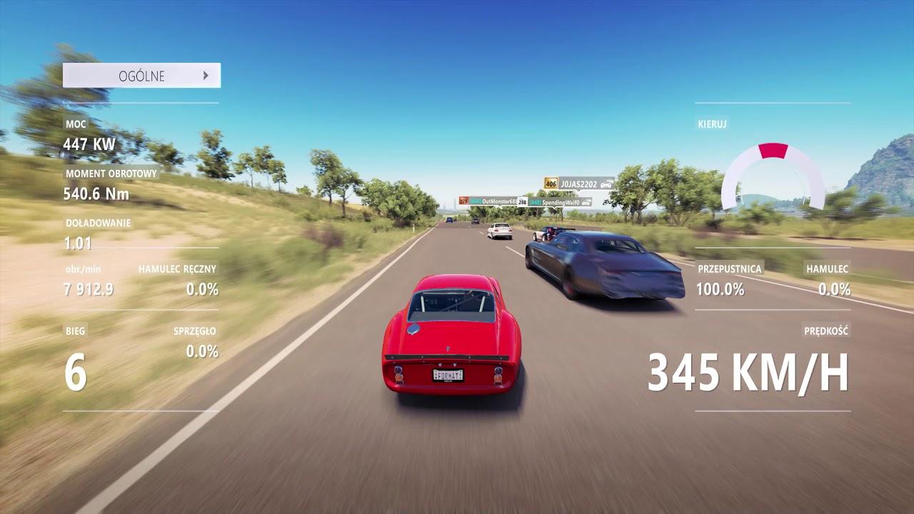 Ferrari 250 gto top speed