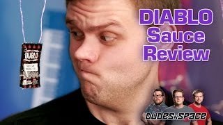 Taco Bell Diablo Sauce Review - Dudes N Space Taste Tests The New Flavor