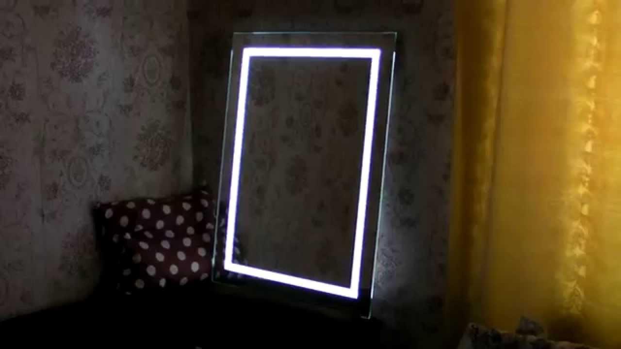 Подсветка зеркала своими руками