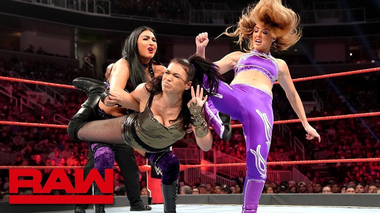 The IIconics vs. Lisa Lace & Aleyah Mia: Raw, June 10, 2019