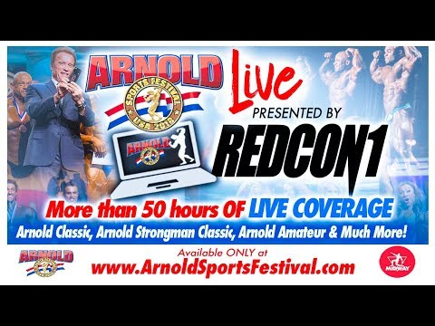 Arnold Sunday Showcase & Coffee With The Champions