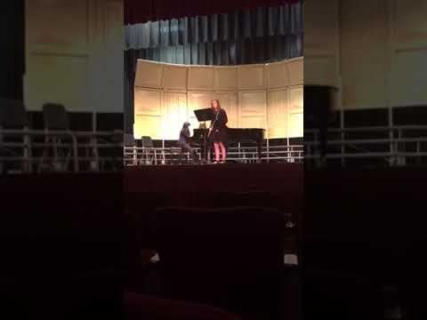 Jessica Fisher 2018 NEMO District Solo Performance