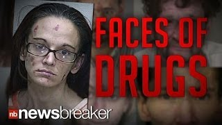 FACES OF DRUGS: Timelapse Mugshots Show the Horrifying Side Effects of Substance Abuse