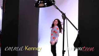 RUNWAY TEEN | Emma Kenney - Behind The Scenes